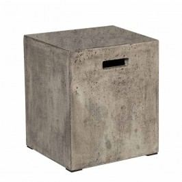 Stern Hocker 35x35x46cm Beton Grau