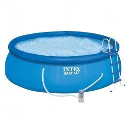 INTEX Easy-Set Pool-Set Ř396cm mit Kartuschenfilter  Blau