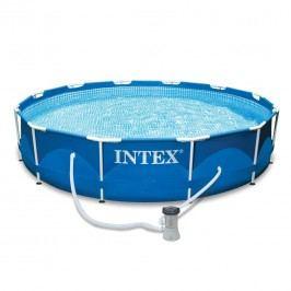 INTEX Frame Pool-Set Ř366cm m. Kartuschenfilter Blau