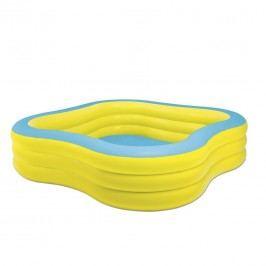 INTEX Planschbecken Beach Wave Pool Gelb/Blau Gelb/Blau