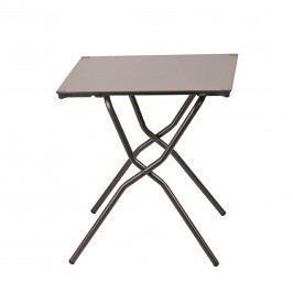Lafuma Anytime Tisch 68x64 cm Stahl/HPL Braun/Taupe