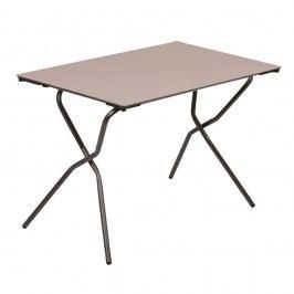 Lafuma Anytime Tisch 110x68 cm Stahl/HPL Braun/Taupe
