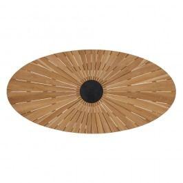 Hartman Provence Tischplatte Oval 220x120 cm FSC Teak Teak Natur