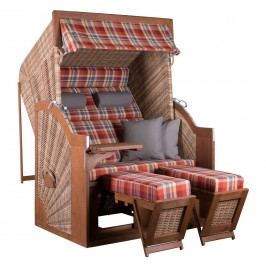 deVries Pure® Comfort XL Strandkorb PE Dessin 429 Griseum