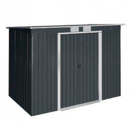 tepro Pent Roof Gerätehaus 198x119 cm Metall Anthrazit