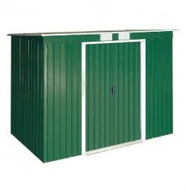 tepro Pent Roof Gerätehaus 259x119 cm Metall Grün