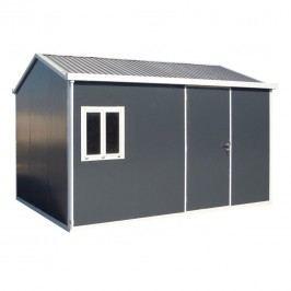 tepro Cabana 10x13 Gerätehaus Metall Anthrazit