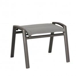 Best Varese Hocker Aluminium/Ergotex Anthrazit/Matt