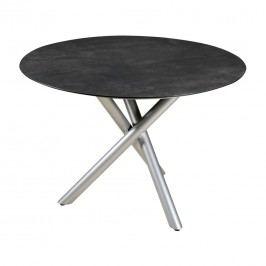 Zebra Sela Tischplatte Ř110 cm HPL  Bronze