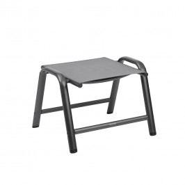 Kettler HKS Cirrus Hocker Aluminium/Textilene Anthrazit/Anthrazit-Grau