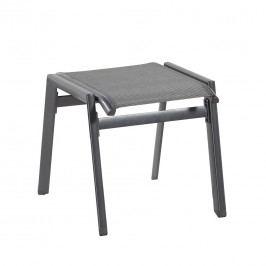 Hartman Aruba Hocker Aluminium/Textilene Anthrazit