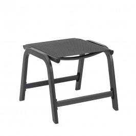 Kettler Easy Hocker Aluminium/Textilene Anthrazit/Anthrazit