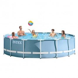 Intex Prism Frame Pool Set Ř457x107cm Blau