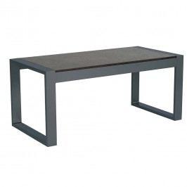 Stern Allround Beistelltisch 122,5x60 cm Aluminium/Silverstar Anthrazit/Vintage Grau