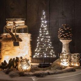 LED Mini-Weihnachtsbaum 60 LEDs warmweiß, 32cm, indoor