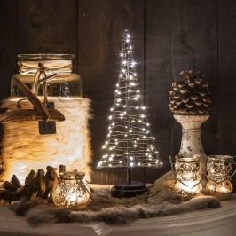 LED Mini-Weihnachtsbaum 85 LEDs warmweiß, 42cm, indoor
