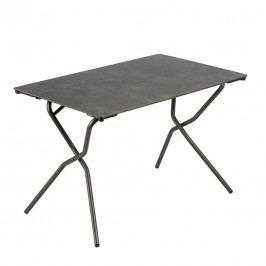 Lafuma Anytime Tisch 110x68cm Stahl/HPL Titan/Volcanic