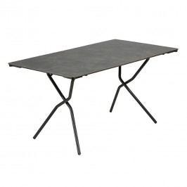 Lafuma Anytime Tisch 140x80cm Stahl/HPL Titan/Volcanic