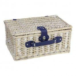 Cilio Arolo Picknickkorb Vintage Weiß