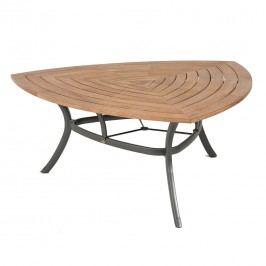 Hartman Classic Triangel-Tisch 170x170x170cm Aluminium/Teak Xerix/Teak Recycled