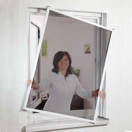 Hecht Master Slim Fensterbausatz 80x100 braun Alu/Fiberglasgewebe Braun