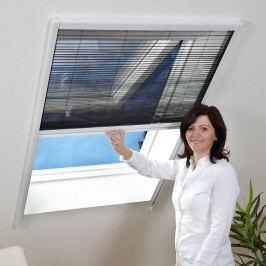 Hecht Insektenschutz, Dachfenster Plissee, 80x160, braun, Aluminium/Kunststoff Braun