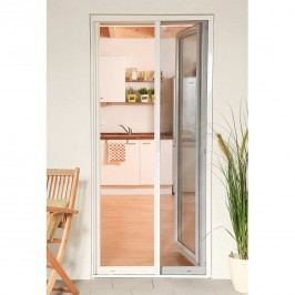 Hecht Smart Insektenschutz, Türrollo, 125x220, weiß, Aluminium/Fiberglas Weiß