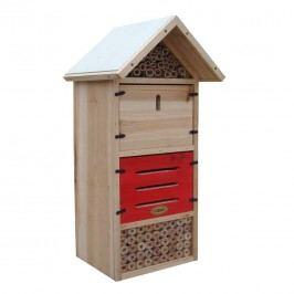 Habau Kompakt Insektenhotel Holz/Bambus Braun