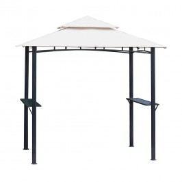 tepro Grillpavillon 246x154x255cm Stahl/Polyester Beige/Grau