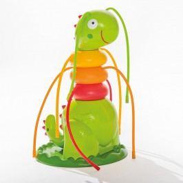 Intex Friendly Caterpillar Gartensprüher 18x17x27 cm Grün/Rot/Orange/Gelb