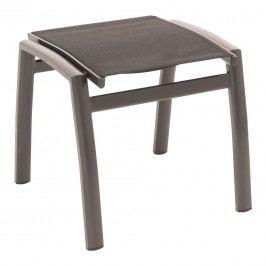 OUTLIV. Alpha Hocker Aluminium/Textilene Anthrazit/Schwarz