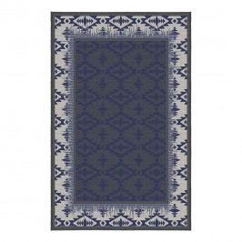 Korhani Cornwall Outdoorteppich 200x265 cm Blau/Beige