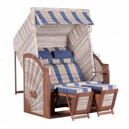 Trendy by deVries Pure® TRENDY Classic XL Strandkorb SUN PE -428 Seashell