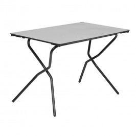 Lafuma Anytime Campingtisch 110x68cm  Stahl/HPL Schwarz/Stone