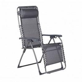 Sungörl Oasi Medici XL Relaxliege Aluminium/Textilene Anthrazit/Silber-Anthrazit