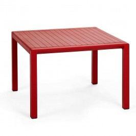Nardi Aria Beistelltisch 60x60 cm Kunststoff Rot