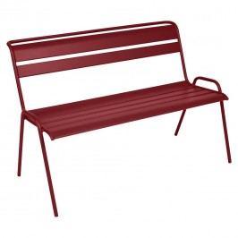Fermob Monceau 2/3-Sitzerbank 116cm Stahl Chili