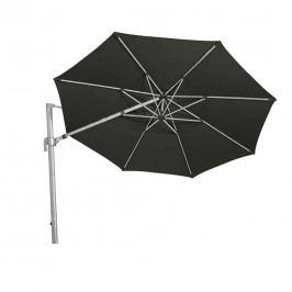 Siena Garden Alphawing Schirm Ř350cm Aluminium Schwarz Meliert