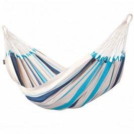 La Siesta Caribeńa Einzel-Hängematte 140x300x0cm Baumwolle Aqua Blue
