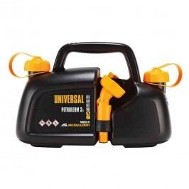 Universal Kombikanister für 3 Liter Benzin und 1,5 Liter Öl