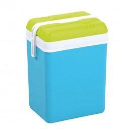 Eda Promotion Kühlbox 15 Liter 21,5x30x39cm Kunststoff Blau/Anisgrün