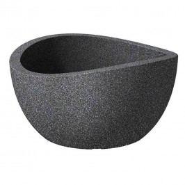 Scheurich Wave Bowl 39x39x21cm Schwarz Granit