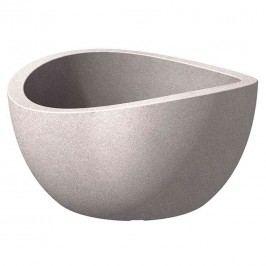 Scheurich Wave Bowl 39x39x21cm Taupe Granit