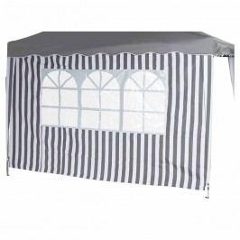 Siena Garden Faltpavillon Seitenteile 2er Set 294x191x0cm Grau/Weiß