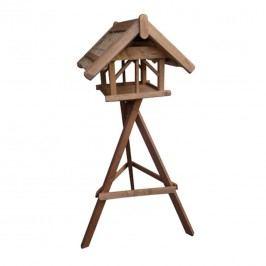 Siena Garden Vogelhaus Nr.41 mit Ständer 70x60x50cm Braun