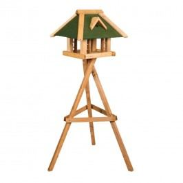 Siena Garden Vogelfutterhausfink mit Ständer 36x51x37cm Holz Grün
