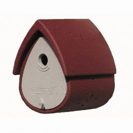 Schwegler Nisthöhle Meisenresidenz 1MR 19x27x23cm Rot/Grau