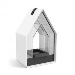 Emsa Landhaus Futtersilo 10,8x15,6x24,3cm Kunststoff Weiß/Granit