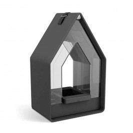 Emsa Landhaus Futtersilo 10,8x15,6x24,3cm Kunststoff Granit