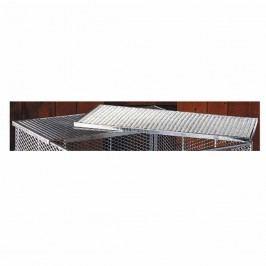 Brista Deckel für Komposter 80x80cm Silber